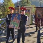 Лийтийно шествие с иконата на Св. Димитър премина по Владишкия мост