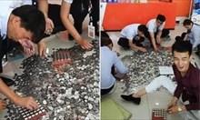 Китайка си купи кола с монети