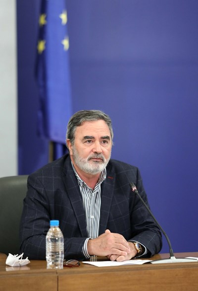 Доц. д-р Ангел Кунчев СНИМКА: Правителствената пресслужба