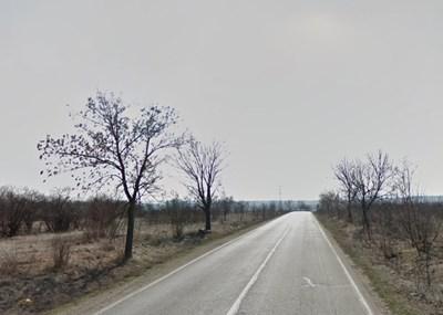 """Пътят Видин - """"Кулата"""" СНИМКА: Google Street View"""