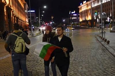 85-а вечер на протести в София (Снимки)