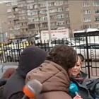 Тодор Марков при излизането си от сградата на Комисията по хазарта на 29 януари. Снимка: Нова тв