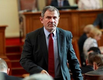 Методи Андреев бе един от вносителите на закона. Снимка Архив