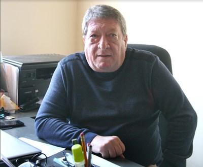 Управителят на приюта Димитър Семерджиев Снимка: Евгени Цветков