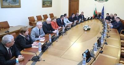Вчера Борисов бе на среща със синдикатите на МВР