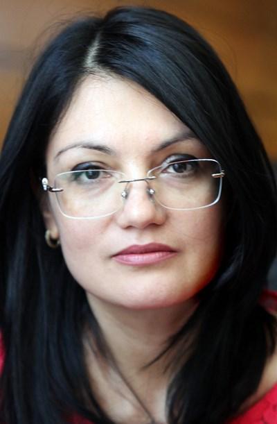 Ася Петрова - заместник на главния прокурор при Върховната административна прокуратура СНИМКА: Румяна Тонeва
