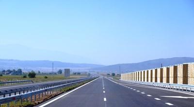 """""""Струма"""" е най-скъпият пътен проект в България, финансиран от ЕС с близо 2 млрд. лева. Магистралата е част от коридор, свързващ Германия с Турция."""