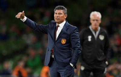 Красимир Балъков остана разочарован от представянето на резервите срещу Ирландия. Снимки: Ройтерс