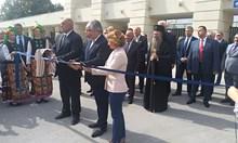 Борисов преряза лентата на панаира в Пловдив с руски зам.-министър и посланик Макаров (Видео)