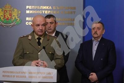 Четирима са заразените с коронавирус в България. Това стана ясно на извънреден брифинг на кризисния щаб в Министерски съвет СНИМКИ: Николай Литов СНИМКА: 24 часа