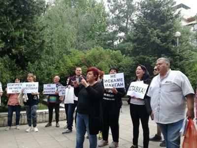 Жители на Брестовица се заканиха пред областната управа да блокират Пловдив.