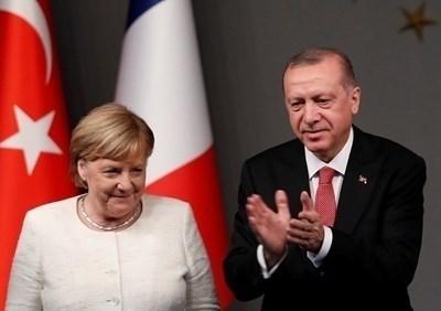 Ангела Меркел и Реджеп Ердоган СНИМКА: Ройтерс
