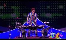 Жонгльор барабанист