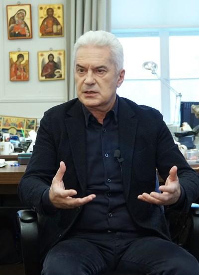 """Волен Сидеров - общински съветник и лидер на партия """"Атака"""" СНИМКА: """"24 ЧАСА"""""""