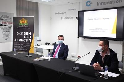 """Заместник-министър Николай Павлов: Радвам се, че проект """"Живей БЕЗ Агресия"""" е постигнал толкова добри резултати"""