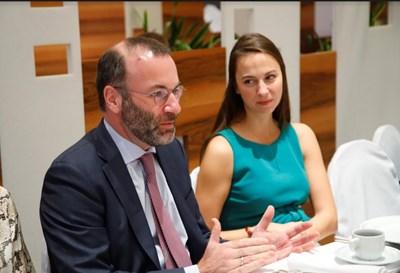 Ева Майдел говори с Манфред Вебер за разделенията в ЕС