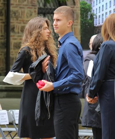 Децата на президента Дарина и Георги преди 2 г.