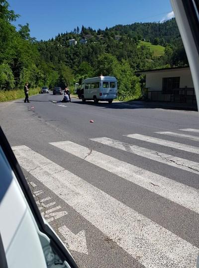 Инцидентът е станал на 10-на метра след пешеходна пътека