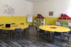 Кабинетът по приобщаващо образование в Чавдар е проектиран по идея на училищния психолог Неделина Найденова.