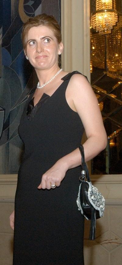 Бети Панова е съпруга на шефа на ВКС Лозан Панов от 2015 г. СНИМКА: Румяна Тонeва