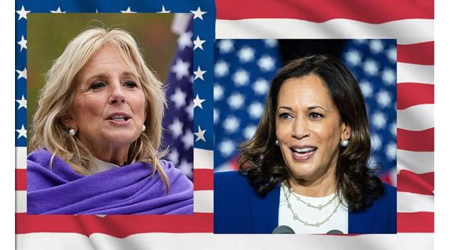 Силни жени превземат Белия дом: Пътят дотам на Камала Харис и Джил Байдън