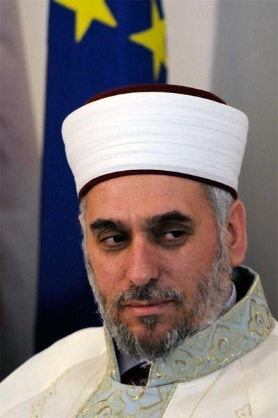 Главният мюфтия Мустафа Хаджи СНИМКА: Архив