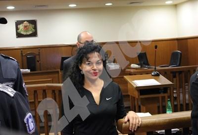 Евгения Банева ще бъде в спецсъда отново в четвъртък. СНИМКА: 24 часа