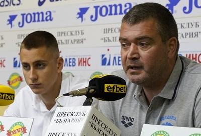 Йосиф Миладинов и Кристиян Минковски