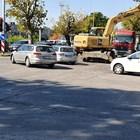 "Кръстовището на бул. ""Христо Ботев"" и ул. ""Любен Каравелов"" в Пловдив."