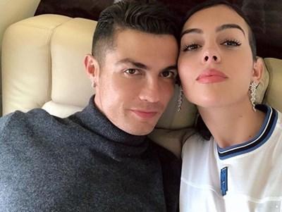 Кристиано Роналдо и Джорджина Родригес Снимка: Инстаграм (georginagio)