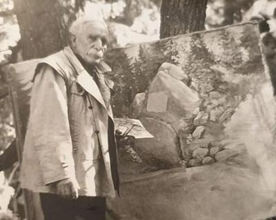 Христо Лозев малко преди да почине. Снимката е от архива на историка Румен Манов и се публикува за първи път.