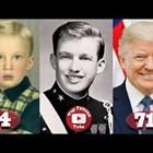 Доналд Тръмп от 3 до 71 години