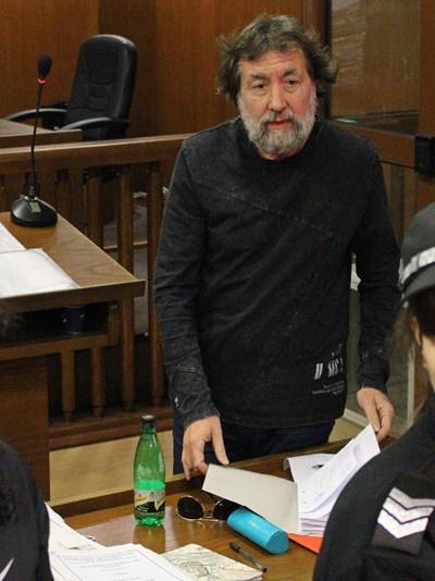 Николай Банев в съда преди пандемията
