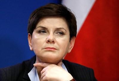 Бившият полски премиер Беата Шидло СНИМКА: Ройтерс