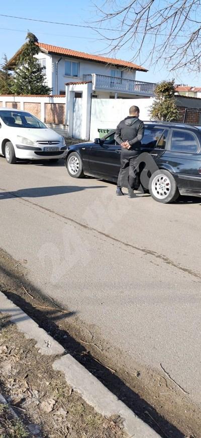 Пламен Дойчев е бил арестуван днес. Снимка: Димитър Мартинов СНИМКА: 24 часа