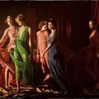 Елина Кешишева засне моделите на Dior като картини на Караваджо (Снимки)