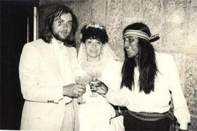 На сватба на приятели в България.