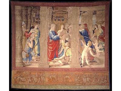 Показват гоблени на Рафаело в Сикстинската капела (Галерия снимки)
