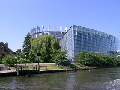 Европейски парламент, Страсбург. Снимка: Пиксабей