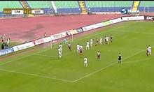 """Мицански вкара атрактивно първия си гол за """"Славия"""" (Видео)"""