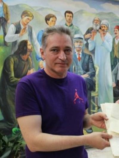 Стефан Филчев, директор на къщата музей на Иван Вазов в Сопот СНИМКА: Архив