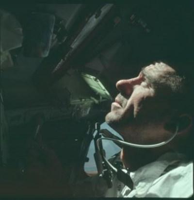 """Уолтър Кънингам от мисията """"Аполо 7"""" през 1968 г. СНИМКА: Ройтерс"""