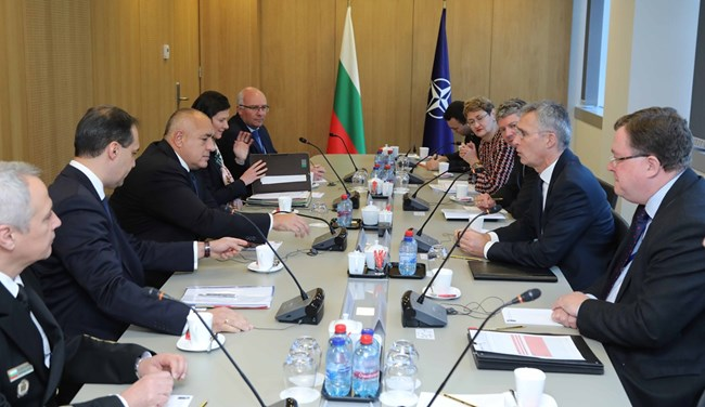 Борисов към Столтенберг: България е отговорен съюзник на НАТО