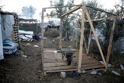Кадри от лагера Снимки: Ройтерс