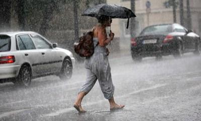 "Ужас! ""Минос"" удря с бури и градушки  Гърция (Видео)"