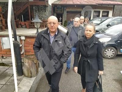 Емил Димитров и Дани Каназирева СНИМКИ: Авторът