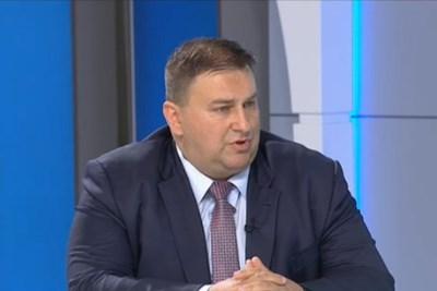 Евродепутатът Емил Радев Кадър: БНТ