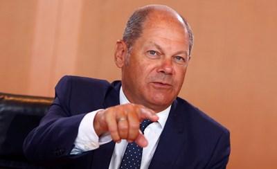 Германският министър на финансите Олаф Шолц СНИМКА: Ройтерс