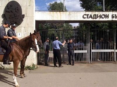 """Столичната община е дала на АС-23 място за стадион още през 1924 година. Сега на негово място е държавният """"Българска армия""""."""