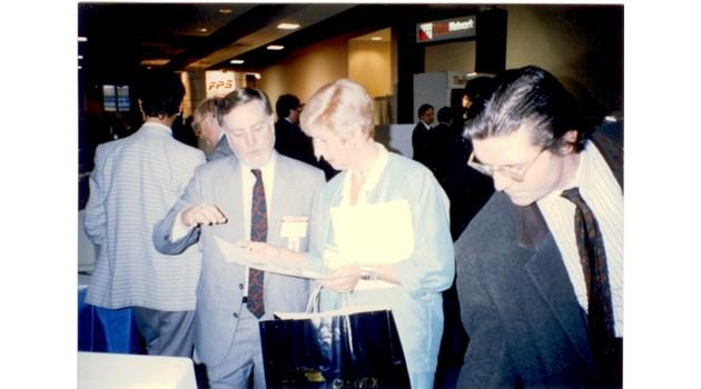1989 г.: Возим в очукана лада шефка на таен US център